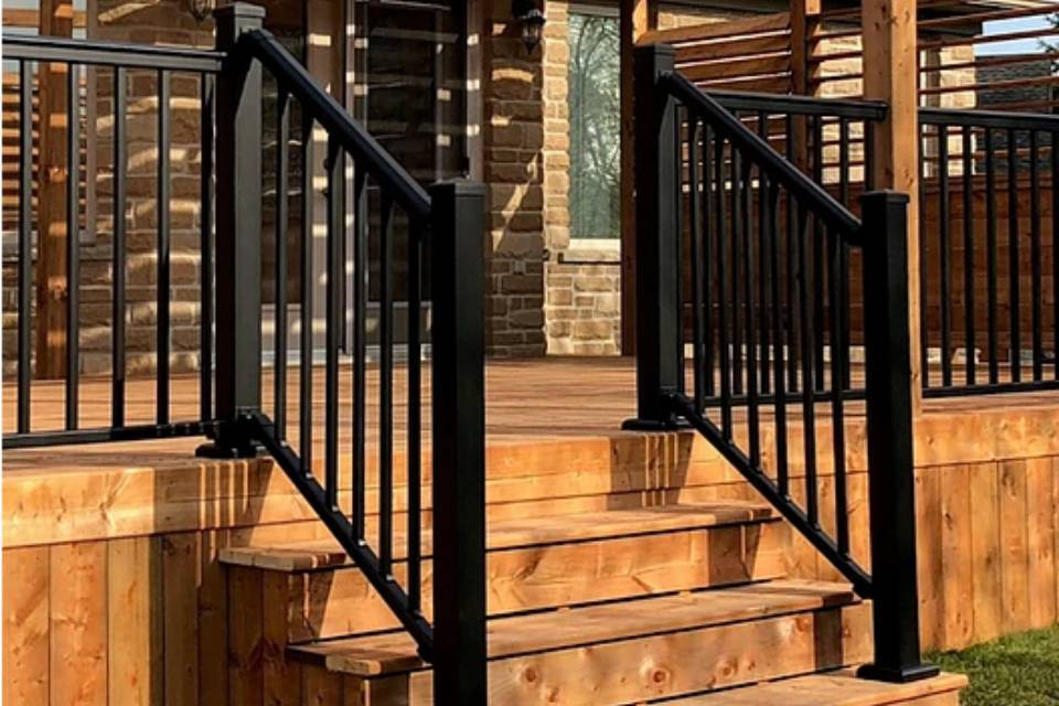 Railing by Nuvo Iron
