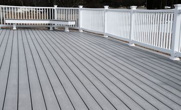 view of a deck