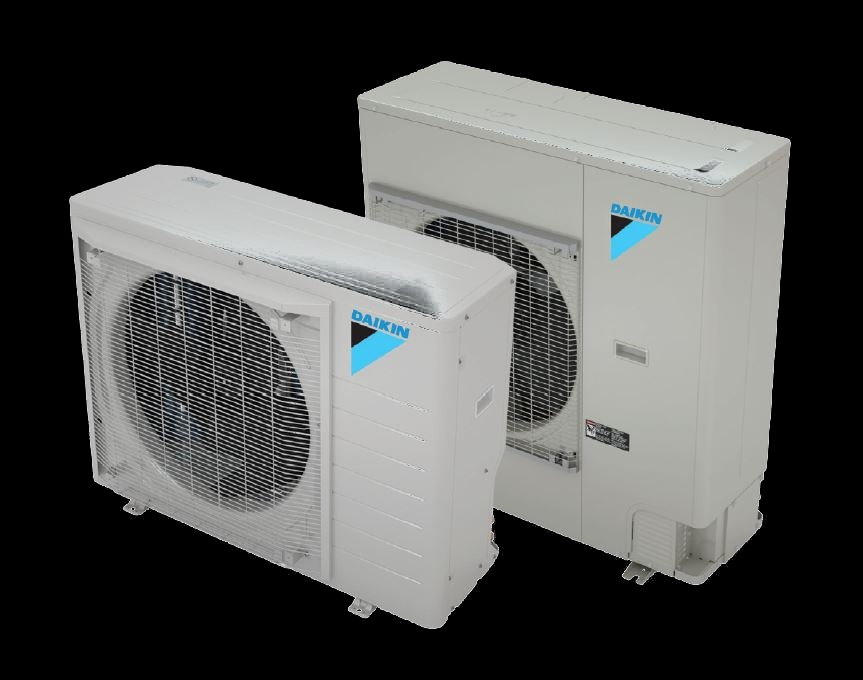 outdoor units of split ACs