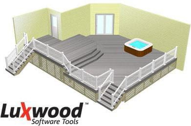 3d deck deign by luxwood