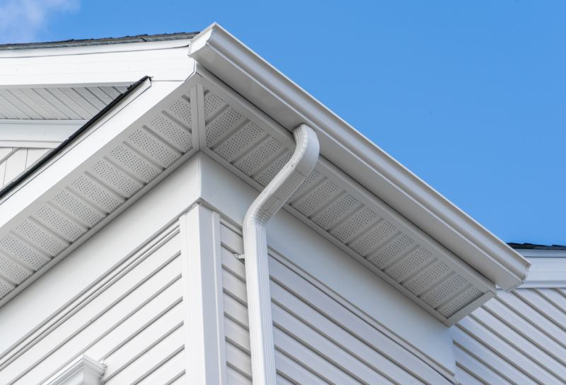 view of a cement siding in a house